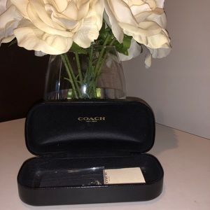 Coach sunglasses Case with Cloth and booklet
